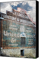 Historic Furniture Canvas Prints - Uneeda Biscuit Canvas Print by Steven  Michael