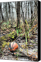Basketball Canvas Prints - Unfulfilled Dreams  Canvas Print by JC Findley