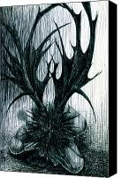 Kd Neeley Canvas Prints - Unholy Canvas Print by Kd Neeley