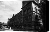 Medical School Canvas Prints - University Of Edinburgh Medical School On Teviot Place Canvas Print by Joe Fox