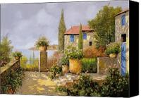 Vases Canvas Prints - Uno Sguardo Sul Mare Canvas Print by Guido Borelli