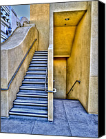 Fine Photography Art Canvas Prints - Up Stairs Down Stairs Canvas Print by Paul Wear