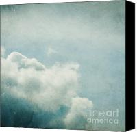 Daydream Canvas Prints - Up There Canvas Print by Violet Damyan