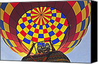 Metamora Canvas Prints - Up Up and Away Canvas Print by Rodney Campbell