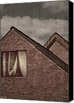 Gable Canvas Prints - Upstairs Canvas Print by Odd Jeppesen
