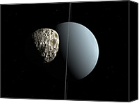 Puck Canvas Prints - Uranus And Puck, Artwork Canvas Print by Walter Myers