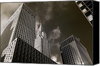 Steel City Canvas Prints - Urban Jungle Canvas Print by Joann Vitali