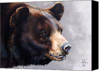 Major Mixed Media Canvas Prints - Ursa Major Canvas Print by J W Baker
