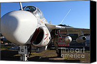 Us Navy Fighters Canvas Prints - US Fighter Jet Plane . 7D11232 Canvas Print by Wingsdomain Art and Photography