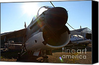 Us Navy Fighters Canvas Prints - US Fighter Jet Plane . 7D11296 Canvas Print by Wingsdomain Art and Photography