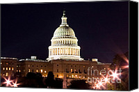 Diplomacy Canvas Prints - US Senate Canvas Print by Syed Aqueel