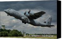 Aeroplane Canvas Prints - USAF Lockheed-Martin C-130J-30 Hercules  Canvas Print by Tim Beach