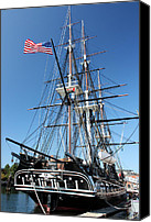 Frigate Canvas Prints - USS Constitution Canvas Print by Kristin Elmquist