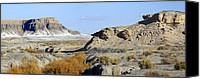 Surreal Landscape Canvas Prints - Utah Outback 42 Canvas Print by Mike McGlothlen
