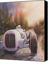 Transportation Painting Canvas Prints - V8ri Canvas Print by Robert Hooper
