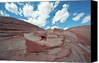 Valley Of Fire Canvas Prints - Valley of Fire Canvas Print by Lee Chon