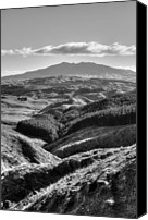 Rural Scenery Canvas Prints - Valley view Canvas Print by Les Cunliffe