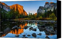 Sierra Canvas Prints - Valley View Yosemite National Park Canvas Print by Scott McGuire