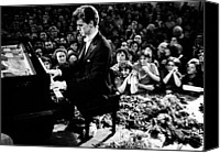 Csx Canvas Prints - Van Cliburn Is The First Foreigner Canvas Print by Everett