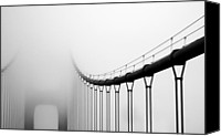Award Winning Canvas Prints - Vanishing Bridge Canvas Print by Matt Hanson