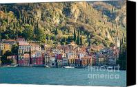 Alpine Canvas Prints - Varenna village Canvas Print by Mats Silvan
