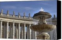Basilica Canvas Prints - Vatican - St. Peters Square Canvas Print by Joana Kruse