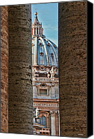Vatican Digital Art Canvas Prints - Vatican Canvas Print by Tom Prendergast