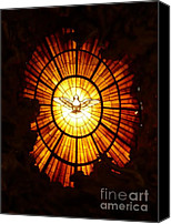 Catholic Church Canvas Prints - Vatican Window Canvas Print by Carol Groenen