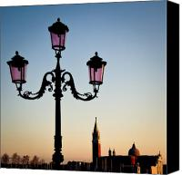 Venetian Canvas Prints - Venetian Sunset Canvas Print by David Bowman