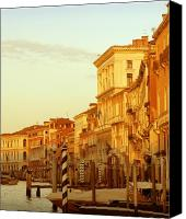Marco Mixed Media Canvas Prints - Venezia III Canvas Print by Rodika George