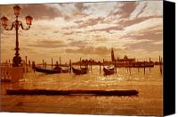 Marco Mixed Media Canvas Prints - Venezia IV Canvas Print by Rodika George