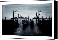 Photographs Digital Art Canvas Prints - Venice - Italy Canvas Print by Marco Hietberg