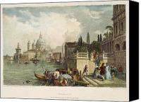 1833 Canvas Prints - Venice, 1833 Canvas Print by Granger