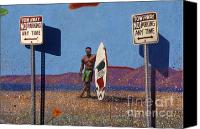 Photo-realism Photo Canvas Prints - Venice Beach mural Canvas Print by Arvind Garg
