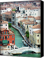 City Of Bridges Photo Canvas Prints - Venice City of Canals Canvas Print by Julie Palencia