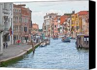 City Of Bridges Photo Canvas Prints - Venice in pastel  Canvas Print by Heiko Koehrer-Wagner