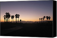 Allie Smith Canvas Prints - Venice Sundown 2 Canvas Print by Allie Smith