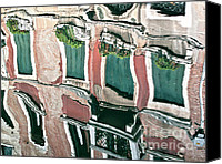 Beige Colours Canvas Prints - Venice upside down 3 Canvas Print by Heiko Koehrer-Wagner