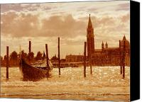 Marco Mixed Media Canvas Prints - Venice V Canvas Print by Rodika George