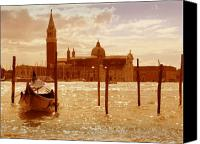 Marco Mixed Media Canvas Prints - Venice VI Canvas Print by Rodika George