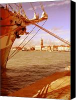 Marco Mixed Media Canvas Prints - Venice VII Canvas Print by Rodika George