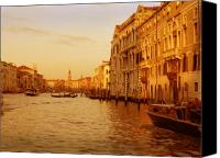 Marco Mixed Media Canvas Prints - Venice VIII Canvas Print by Rodika George