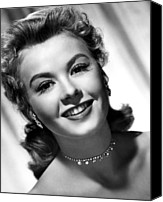 Choker Canvas Prints - Vera-ellen, Ca. Early 1950s Canvas Print by Everett
