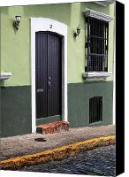 Puerto Rico Photo Canvas Prints - Verde en San Juan Canvas Print by John Rizzuto
