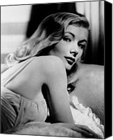 1940s Portraits Canvas Prints - Veronica Lake, Ca. Early 1940s Canvas Print by Everett