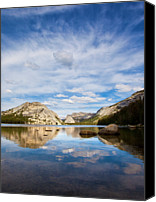 Lake Canvas Prints - Vertical Version Of Lake Tenaya Canvas Print by Mimi Ditchie Photography