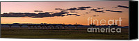 Future Tech Canvas Prints - Very Large Array Panorama Canvas Print by Matt Tilghman