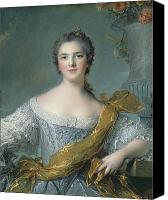 Marie-louise Canvas Prints - Victoire de France at Fontevrault Canvas Print by Jean Marc Nattier