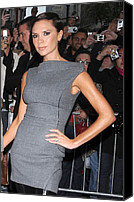 Herald Canvas Prints - Victoria Beckham Wearing Antonio Canvas Print by Everett