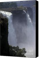 Emblematic Photo Canvas Prints - Victoria Falls - Zimbabwe Canvas Print by Craig Lovell